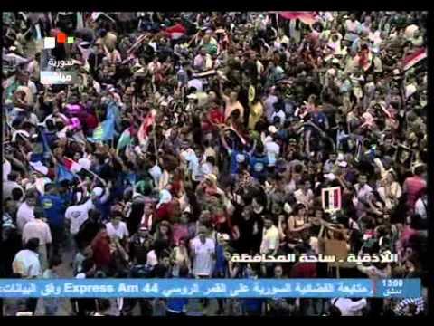Syria - Latakia Celebrate Assad`s victory 2014/06/05 سوريا اللاذقية تحتفل بفوز الأسد في الإنتخابات
