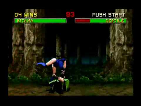 Mortal Kombat II - Kitana (Part 1)