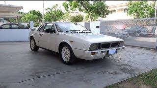 1981 Lancia Montecarlo Start-Up and Full Vehicle Tour