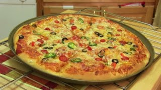 Homemade Pizza Video Recipe⭐️ | Start to Finish Pizza Recipe with Dough, Sauce and Toppings