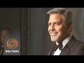 George Clooney joins Buzz Aldrin for Omega celebration