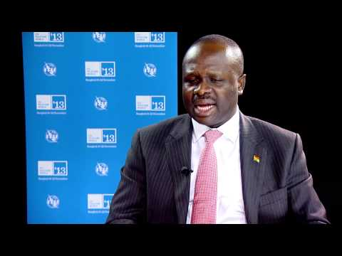 H.E. Dr Omane Boamah, Minister for Communications, Ghana