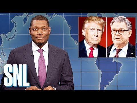 Weekend Update on Senator Al Franken  SNL