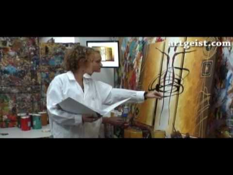 Tableau peinture id e de d coration murale youtube for Idees deco peinture murale