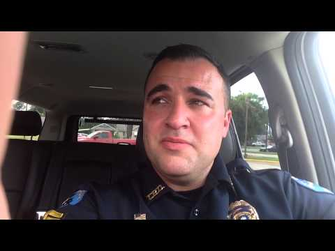 La. cop locks himself in 100+ degree car to prove point