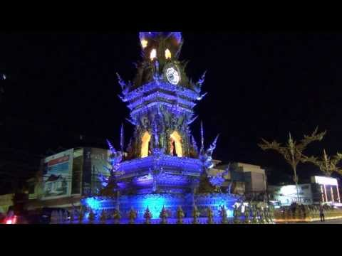 Clock Tower in Chiang Rai