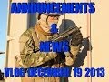 DesertFox Airsoft VLOG December 19 2013 News and Announcements