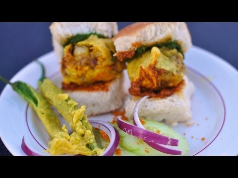 Indian Street Food Recipe Vada Pav