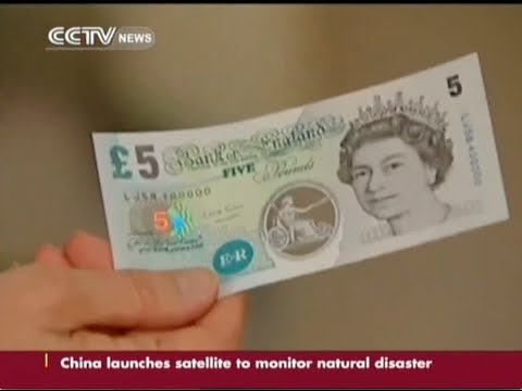 Bank of England launched plastic money to end paper cash use
