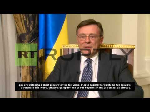 Ukraine: Opposition should face sanctions, not govt - Ukrainian FM