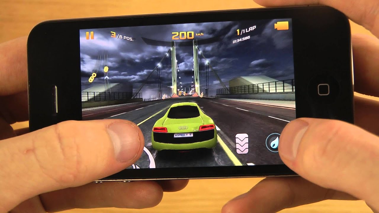 asphalt 8  airborne iphone 4 ios 7 beta 6 hd gameplay