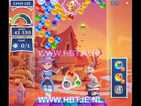 Bubble Witch Saga 2 level 110