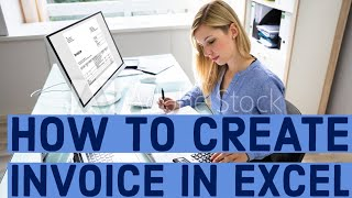 Cash Receipt Form Pdf Excel How To Create Invoice In Excel  Youtube E Ticket Itinerary Receipt with Self Employed Invoices Excel  Free Invoice For Mac