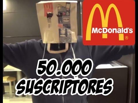 50.000 Suscriptores - Ligando Con Bolsa En La Cabeza