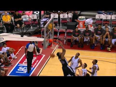Top 10 Dunks of the 2012 NBA Summer League