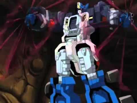 Transformers Armada Optimus Prime vs Galvatron Final Battle