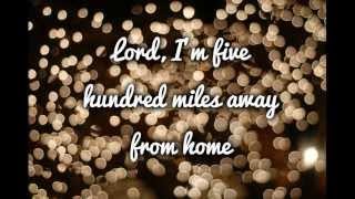 Soundtrack - Justin Timberlake » Five Hundred Miles letras de canciones