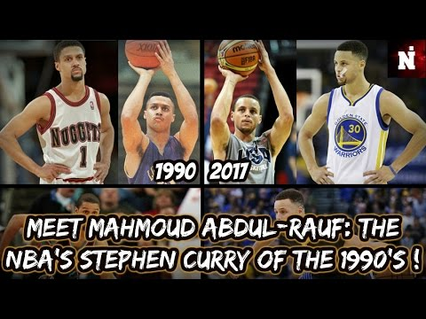 Meet Mahmoud Abdul-Rauf: The Stephen Curry Of The 1990's ! (1/2)