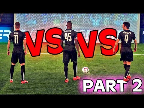 BALOTELLI vs. REUS vs. FABREGAS - evoPOWER CHALLENGE - Part 2/2