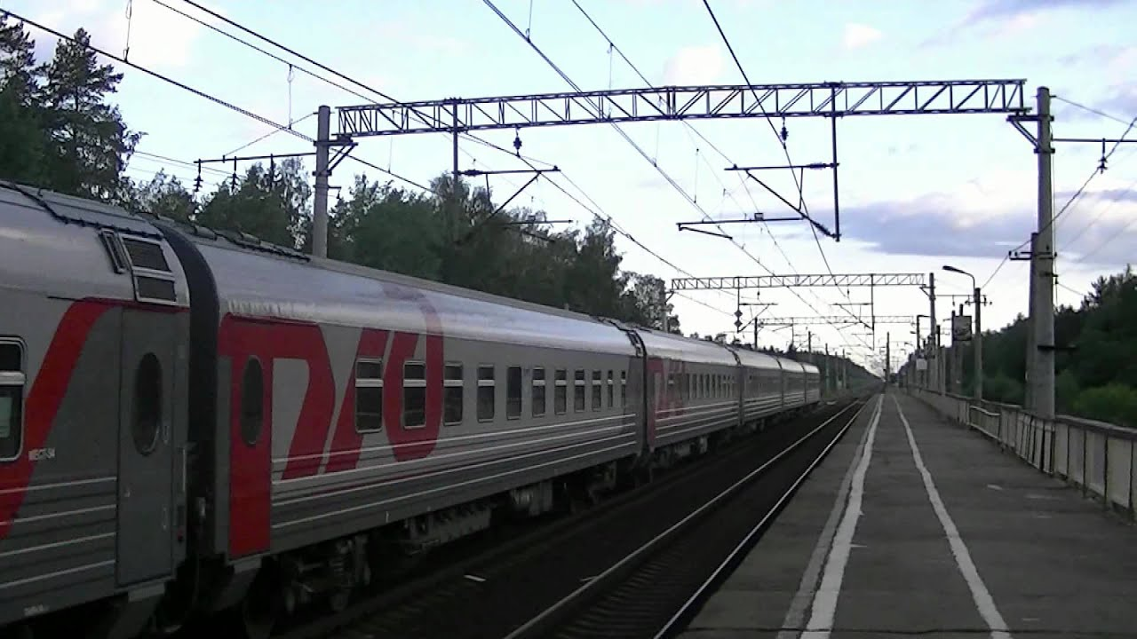 Фото поезда 029а с петер гл москва окт 6