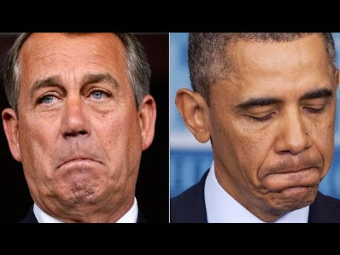John Boehner Suing Barack Obama. Yes, Really.