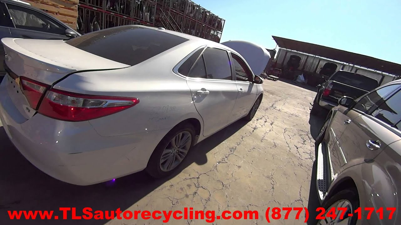 maxresdefault parting out 2015 toyota camry stock 5208br tls auto recycling 2015 Toyota Camry at gsmportal.co
