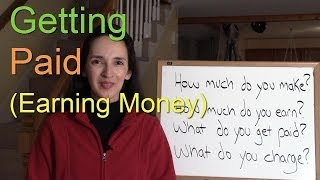 Language Notes 10: Getting Paid (Earning Money)