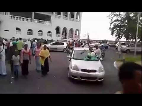 VIDEO: Wild celebrations in Comoros after draw with Ghana in World Cup qualifier