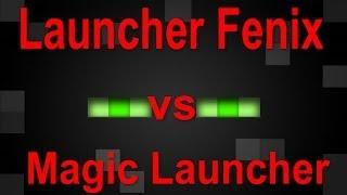 | Minecraft Magic Launcher Vs Launcher Fenix ¿Cual Es