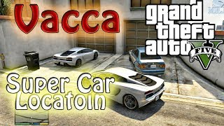 GTA V: Super Car Location Pagassi Vacca