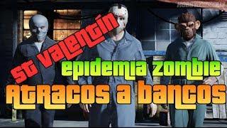 GTA V Online - Atracos a Bancos, San Valentín y Epidemia Zombie -