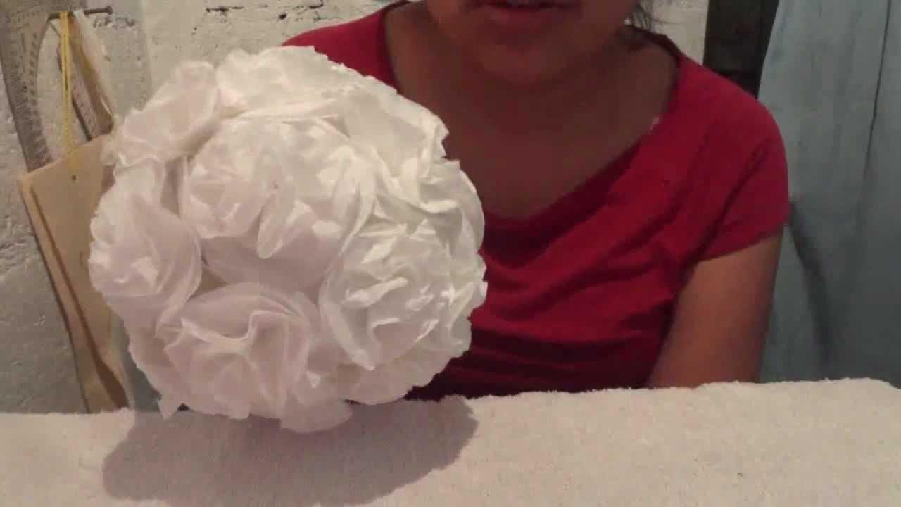 Como Hacer Flores De Papel Para Bodas