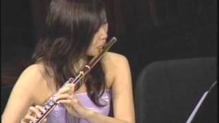 北村美奈 - フルート、ヴィオラ、コントラバスのための小協奏曲 WV.75