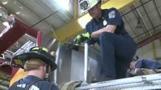 FIRE TRAINING How To Load And Deploy The 400 Ft Line