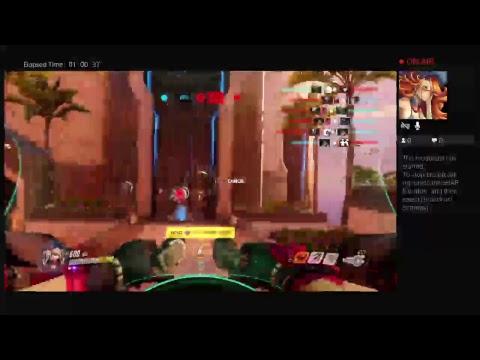 Overwatch gameplay LET'S BRIGITTE!!!