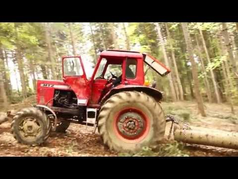 zrywka w lesie na Pogórzu Strzyżowskim 1