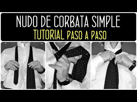 Moda para hombre: Cómo hacer un nudo de corbata simple paso a paso by landoigelo.com