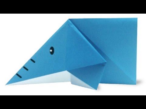 Hướng dẫn cách gấp con voi bằng giấy đơn giản - Xếp hình Origami - How to make a elephant easy
