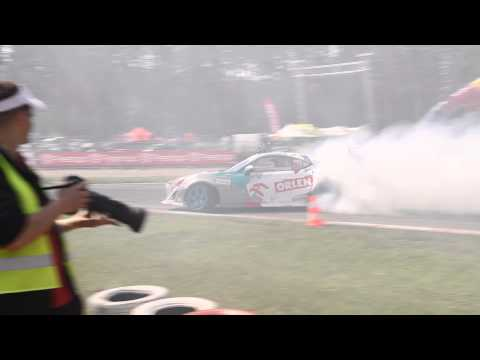 EEDC Riga  2013 Kuba Przygonski Toyota GT86 last run before the qualification