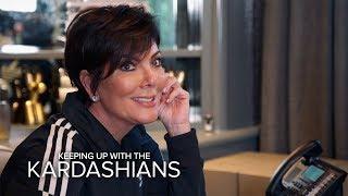 KUWTK | Kourtney Kardashian Sets Kris Straight on Scott Disick's Ways | E!