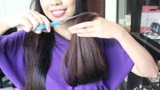 HairTalk Series 5- How To Get Rid Of Split Ends- Dealing