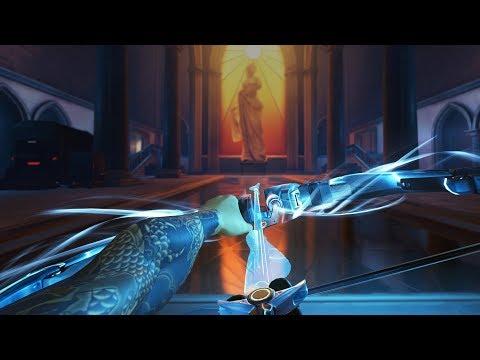 Hanzo Rework Gameplay on Rialto [Overwatch]