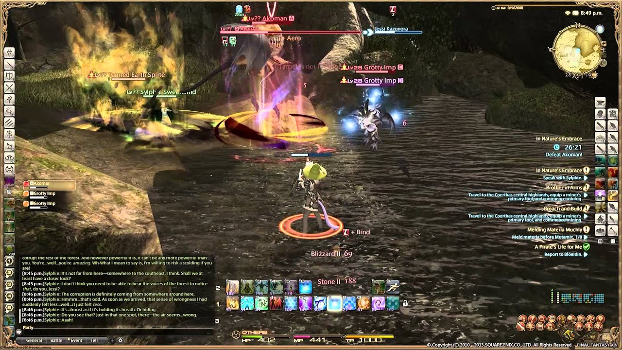 In Nature S Embrace Ffxiv