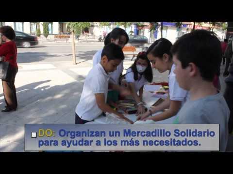 DFC Spain Colegio La Presentación de Guadix, El Mercadillo Solidario