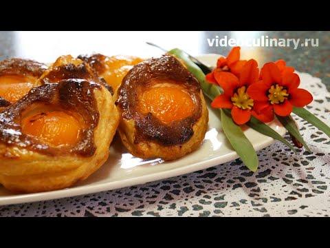 Слоёное пирожное Пасхальное яичко - оригинальная выпечка от VideoCulinary.ru