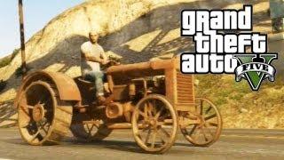 "GTA 5 Secret Cars ""Rusted Tractor"" (GTA V)"
