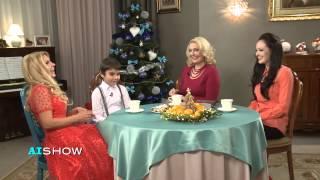 Provocare AISHOW: Ludmila Bălan luată la întrebări de copii