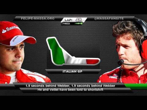Felipe Massa and Rob Smedley team radio, Italy 2013