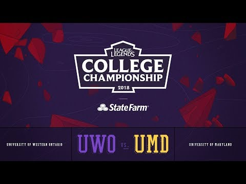 Western vs Maryland | QuarterFinals Game 1 | 2018 College Championship | UWO vs UMD