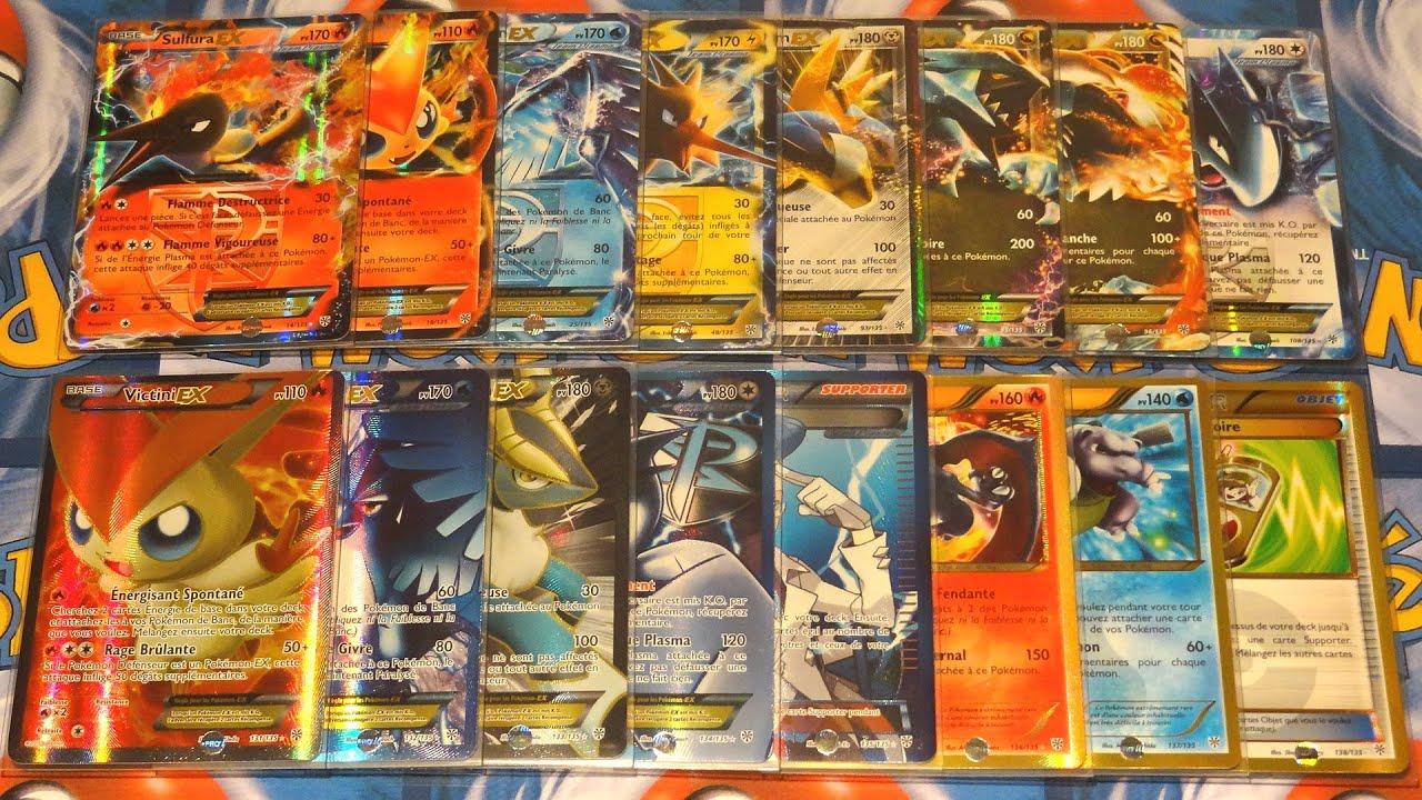 Toutes les cartes pok mon ultra rares de noir blanc temp te plasma compl t 100 - Tout les carte pokemon ex ...